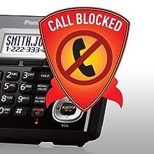 Tel/éfono inal/ámbrico Panasonic KX-TGH720FRB
