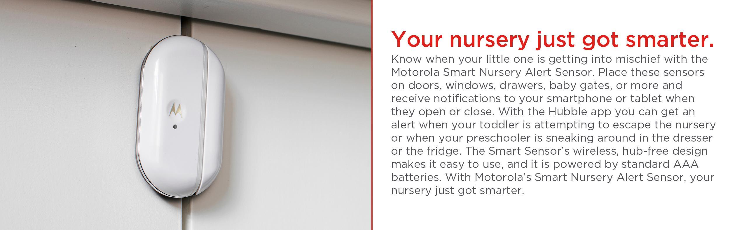 Smart Nursery Alert Sensor Connected Door and Window Alerts 2 Pack