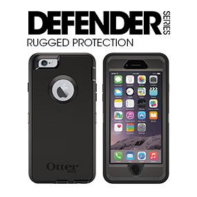 amazon com otterbox defender series case for apple iphone 6 blackotterbox iphone 6 case defender series