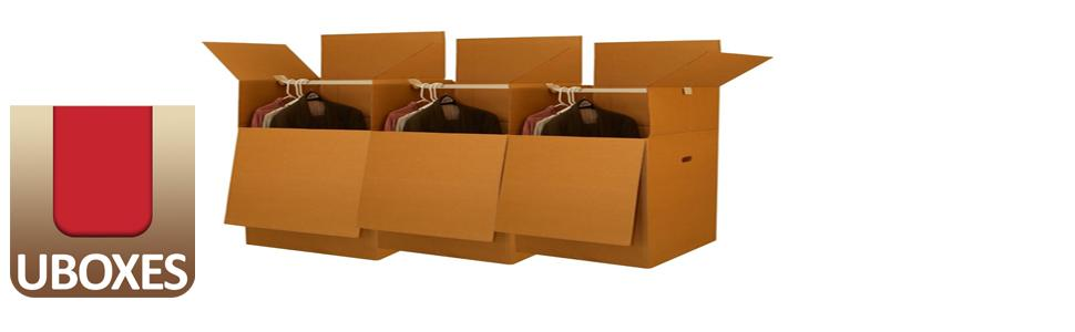 Uboxes Larger Wardrobe 24 X 24 X 40 Inches