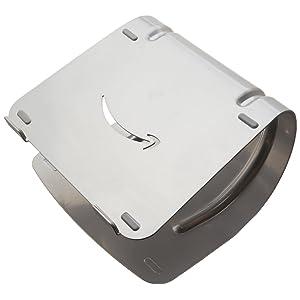 AmazonBasics Aluminum Laptop Stand - Silver