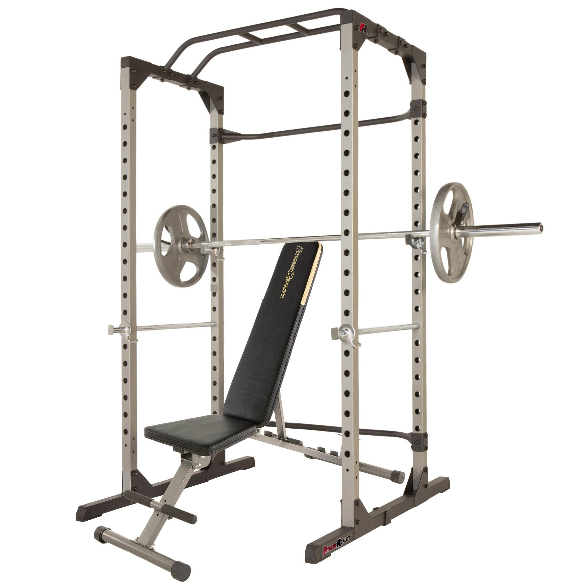 Squat Rack And Bench Pres Combo 013 - Squat Rack And Bench Pres Combo