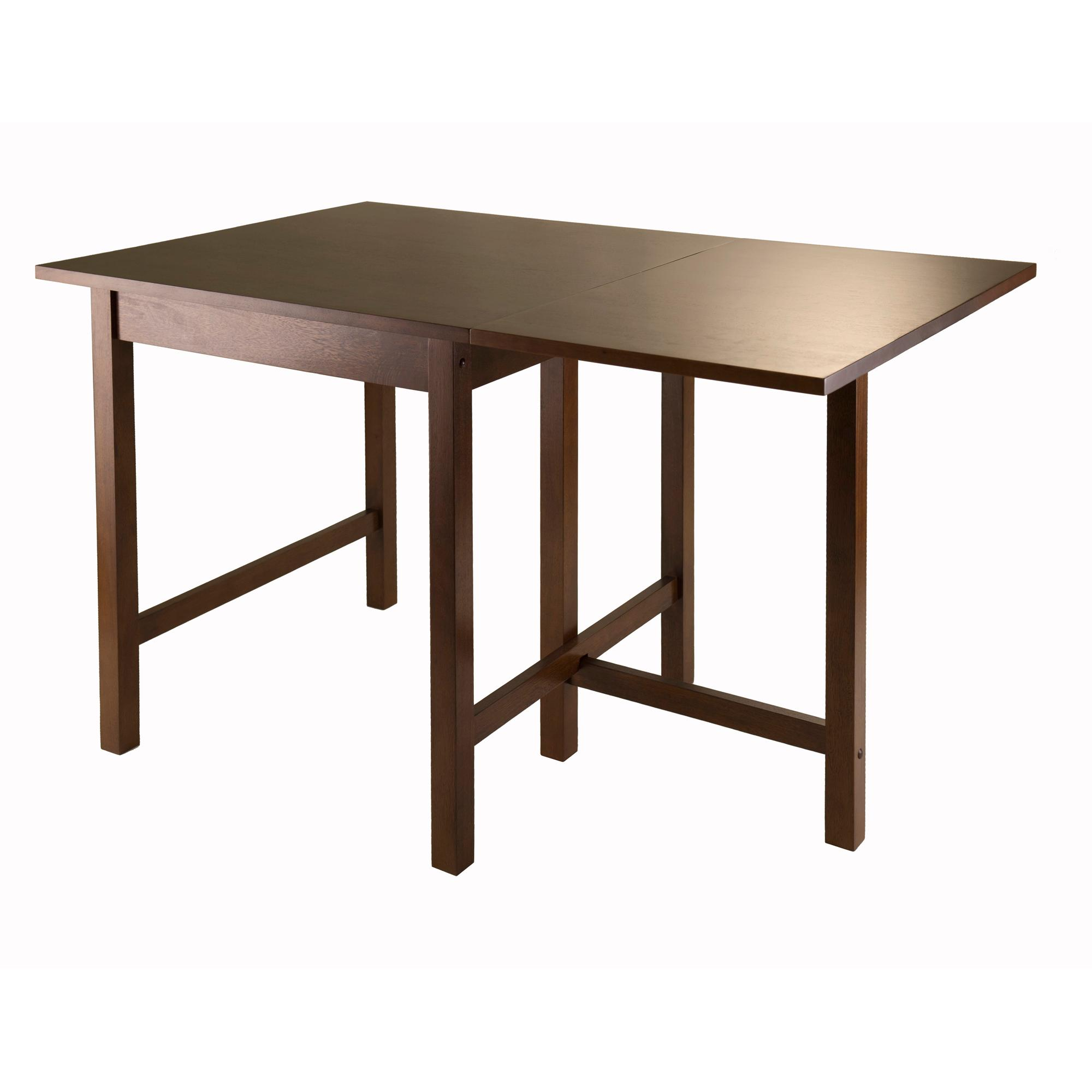 amazon com winsome lynden drop leaf dining table tables