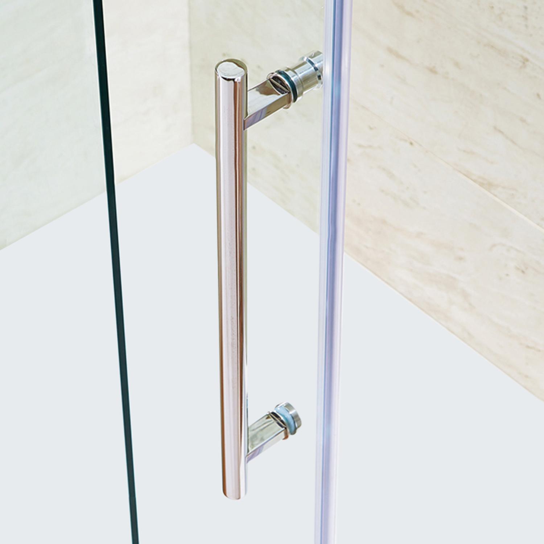VIGO Elan 56 to 60-in. Frameless Sliding Shower Door with