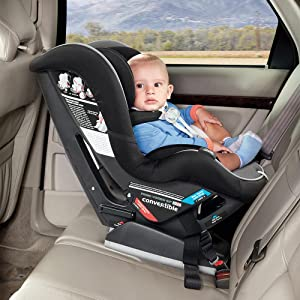 rear facing, convertible, infant, toddler, safety