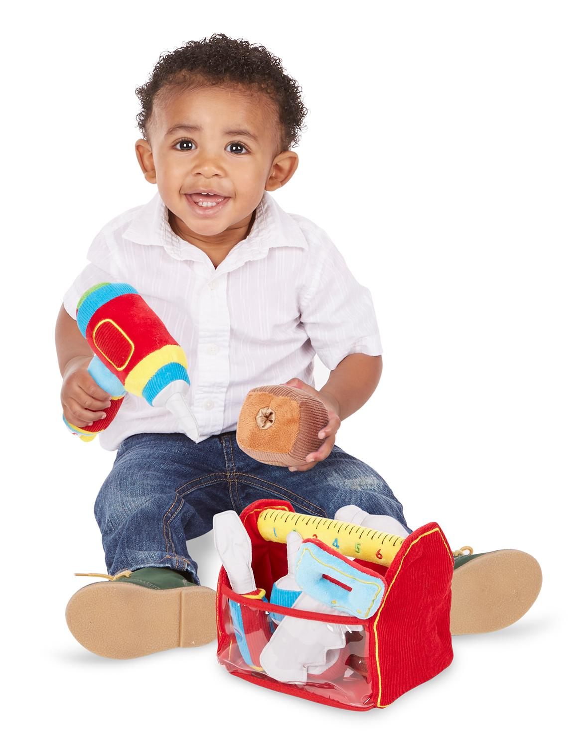 Baby Boy Toys : Amazon melissa doug toolbox fill and spill toddler