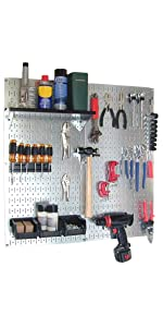 Pegboard, Pegboard Kit, Wall Control