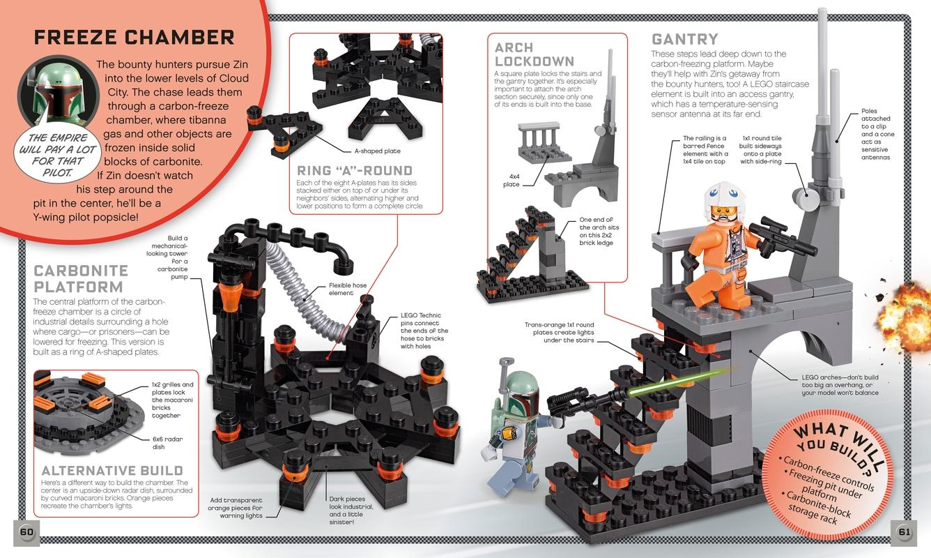 Lego Build Your Own Adventure Star Wars