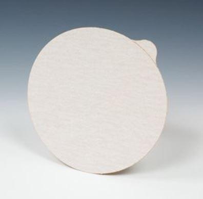 Pack of 50 Aluminum Oxide 5 Diameter P400 Grit 3M NX PSA Paper Disc with Tab 5 Diameter NX Disc White