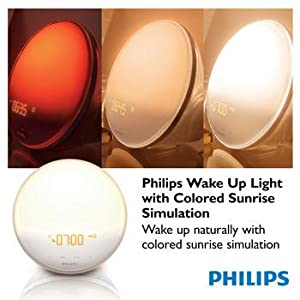 Philips Wakeup light, light therapy, sleep light, mood light, natural light lamp