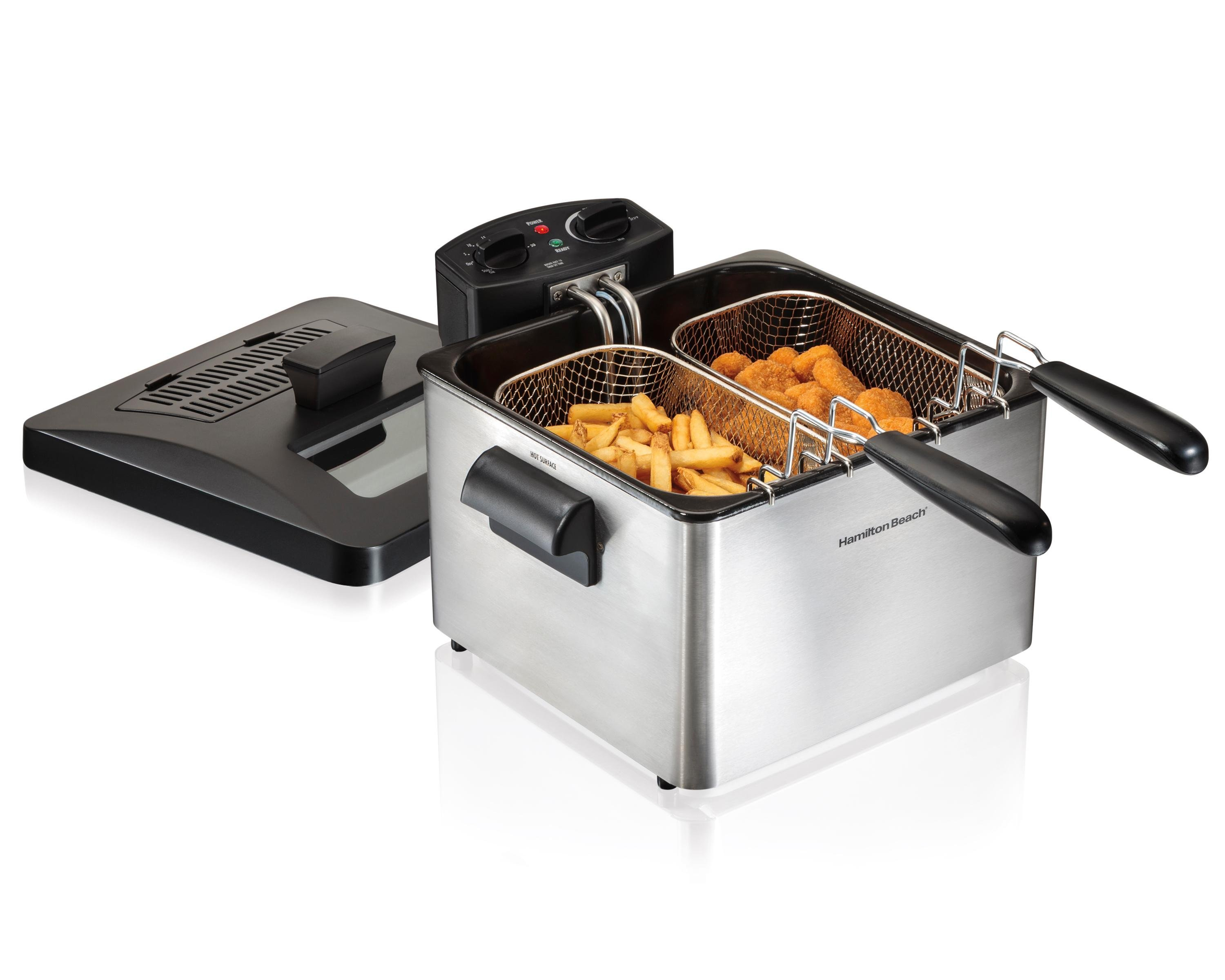Amazon.com: Hamilton Beach (35034) Deep Fryer, With Basket