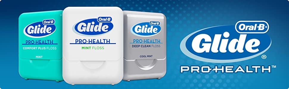 Oral-B, Glide, Pro-Health, Mint, Floss