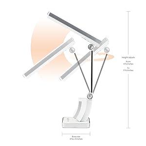 OttLite 326003 13-watt HD SlimLine Task Lamp, White - Desk Lamps ...