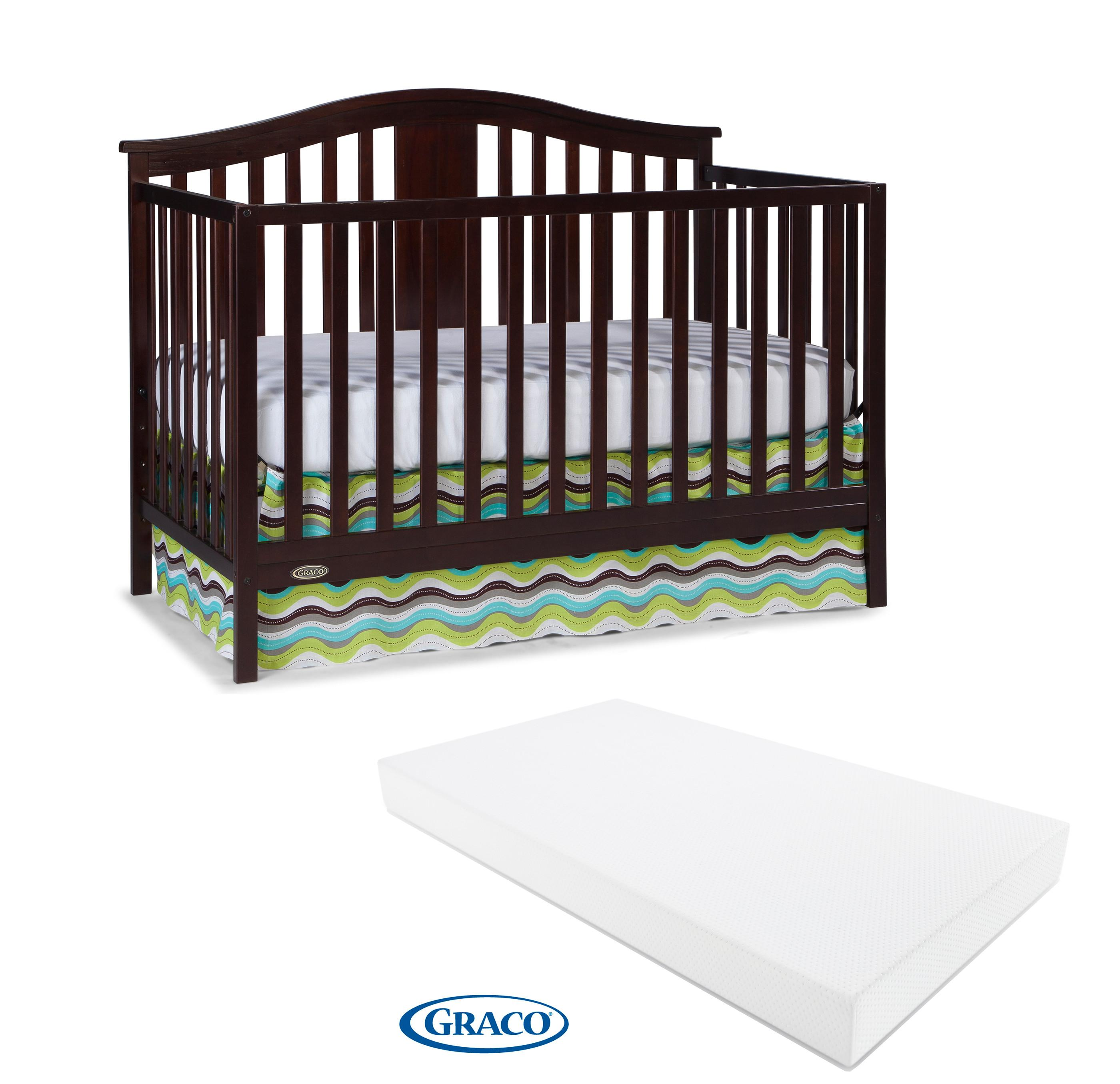 Amazon.com : Graco Solano 4-in-1 Convertible Crib and ...