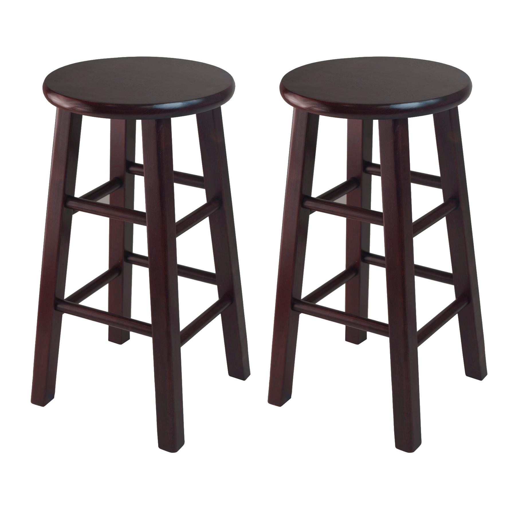 Amazon Com Winsome Counter Stool With Square Legs 24