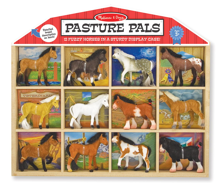 Horse Toys For Boys : Amazon melissa doug pasture pals collectible