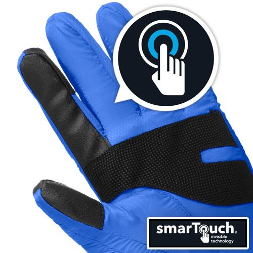 Isotoner Women S Smartouch Packable Mittens With Smartdri