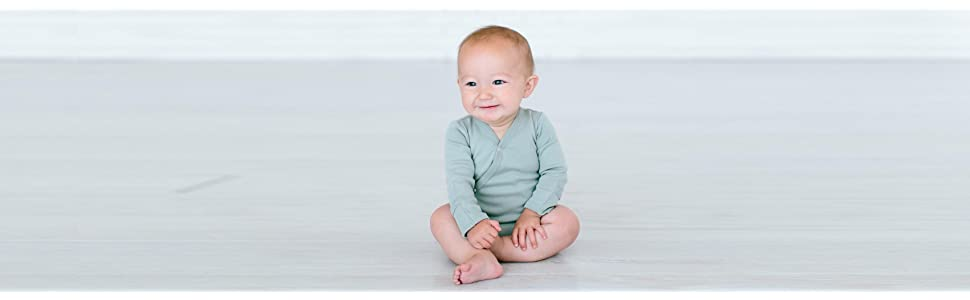 Amazon.com: Lovedbaby - Kimono orgánico unisex para bebé ...