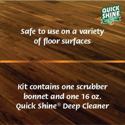 Amazon Quick Shine Deep Clean Kit Floor Polishing Machines