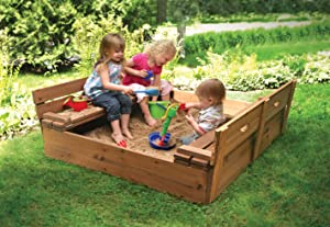 Badger Basket Sandbox 09988 with Kids
