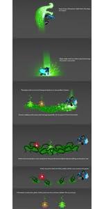 lego nexo knights jungle dragon ability