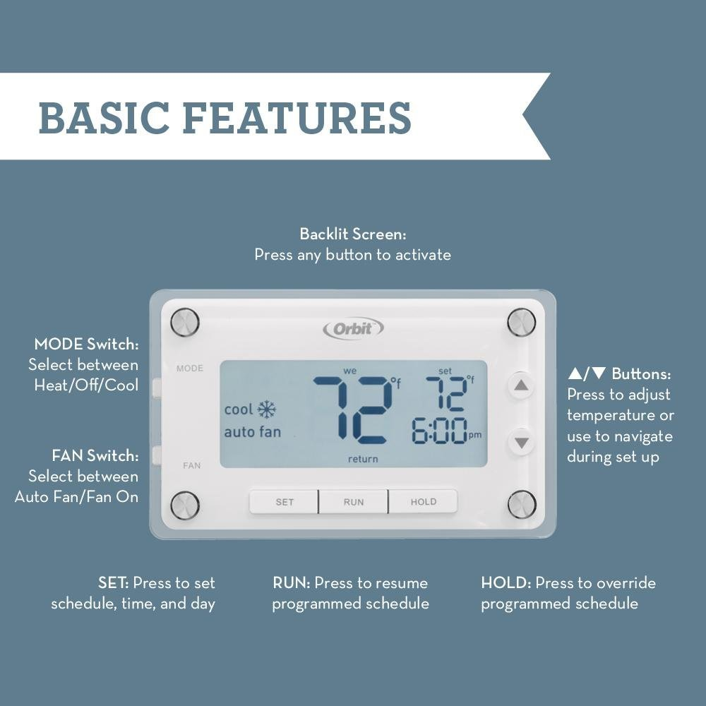 Honeywell day programmable thermostat wiring