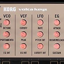 Korg Volca Keys three voice polyphonic analog synth