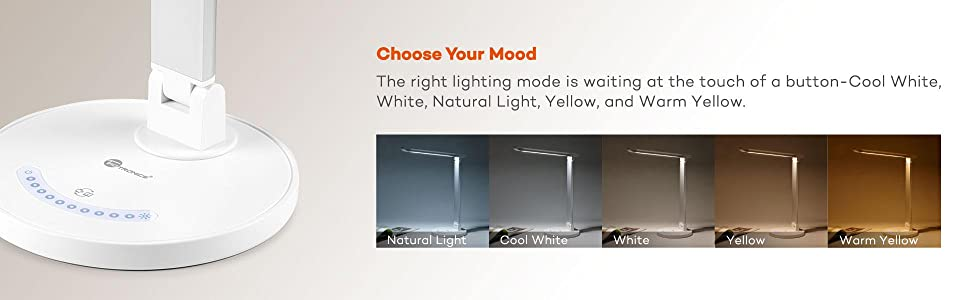 Amazon Com Taotronics Led Desk Lamp Eye Caring Table