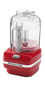 amazon com kitchenaid kfc3511er 3 5 cup food chopper empire red
