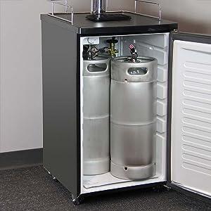 Amazon Com Kegco Single Tap Freestanding Beer Dispenser