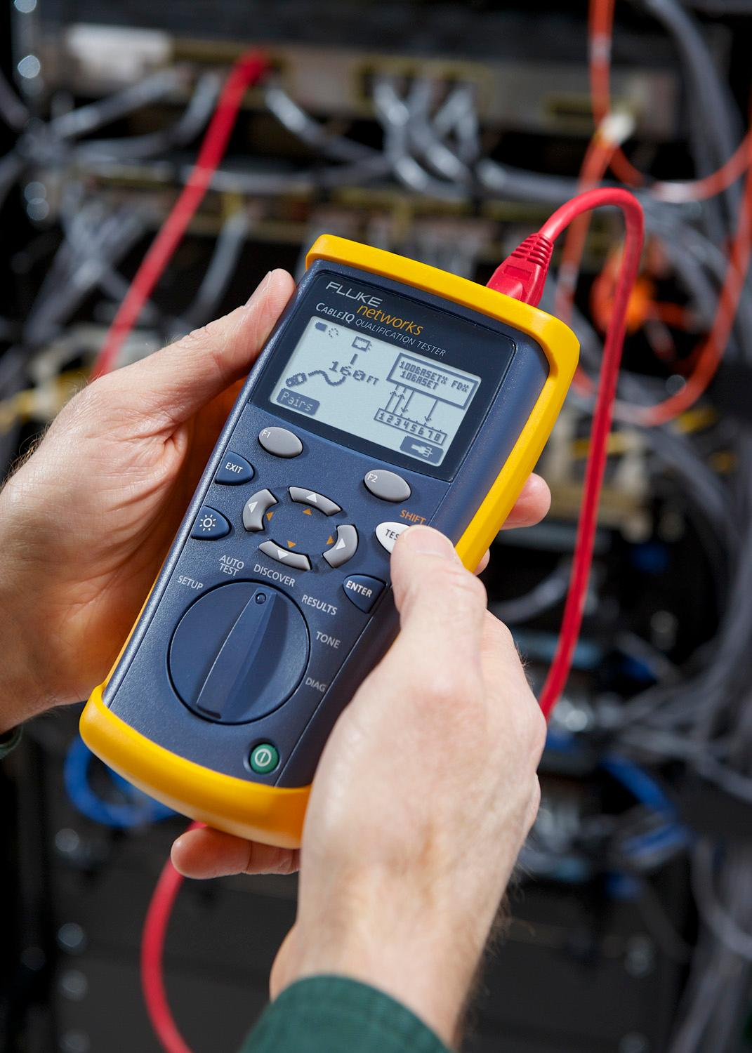Fluke Networks Ciq 100 Cable Tester Circuit Testers
