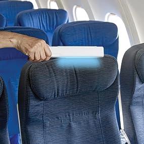 Amazon Com Verilux Cleanwave Portable Sanitizing Travel Wand Uv C Technology Kills Germs