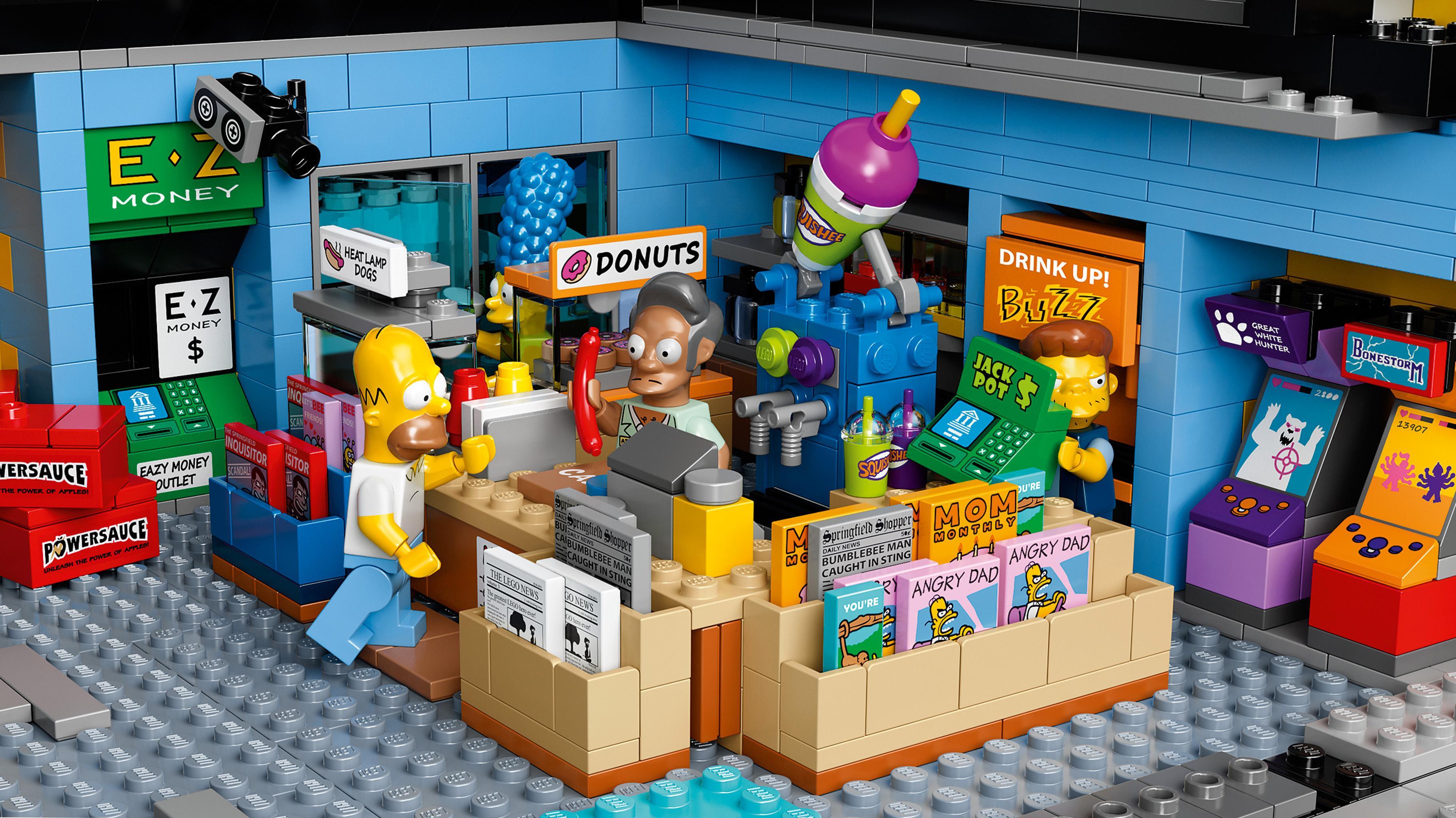 Amazon Com Lego Simpsons 71016 The Kwik E Mart Building