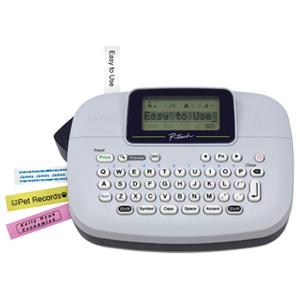 brother pt-80 p-touch label maker how to make font larger