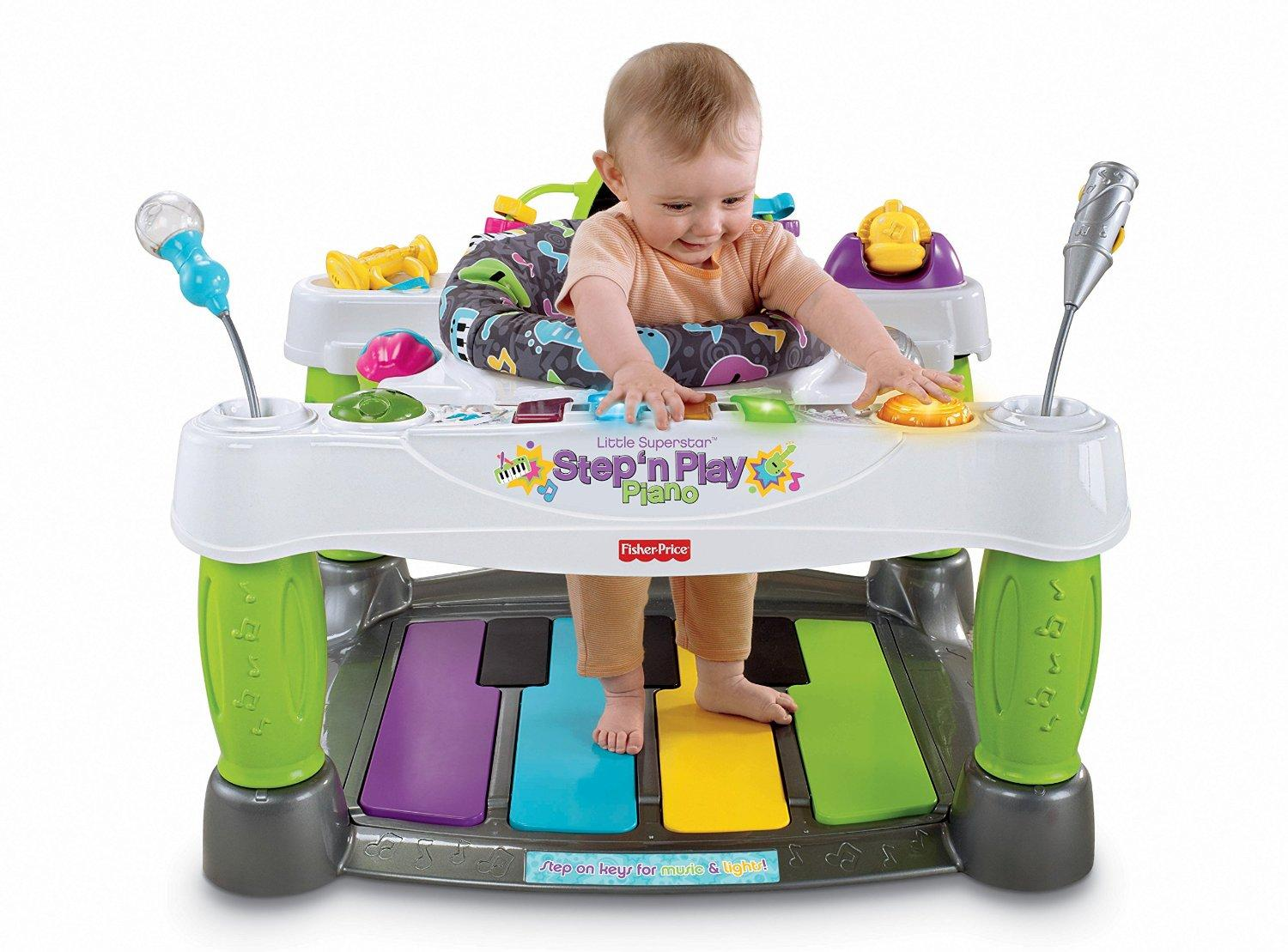 Baby Musical Toys : Amazon fisher price little superstar step n play
