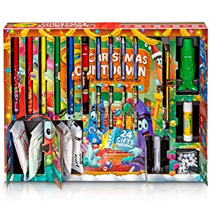 Crayola Christmas Countdown Activity Advent Calendar - Creatively Engaged