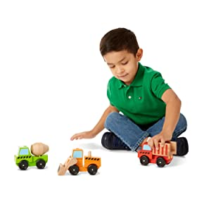 wooden trucks, building toys,toys for 3 year old boys, preschool, sorting, counting