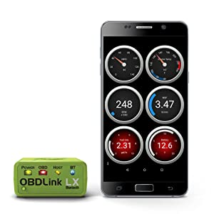 OBDLink LX Bluetooth size comparison