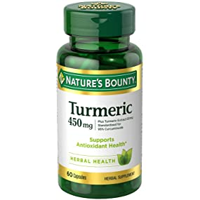 Nature Bounty Rewards Com Turmeric Pills