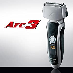 ES-LT41-K Arc3 3-Blade Electric Shaver with Travel Pouch Wet/Dry