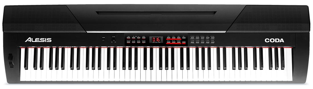 Amazon.com: Alesis Coda | 88-Key Digital Piano with Semi-Weighted Keys