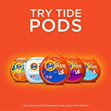 Tide Ultra Stain Release Original Scent HE Turbo Clean Liquid Laundry Detergent, try tide pods