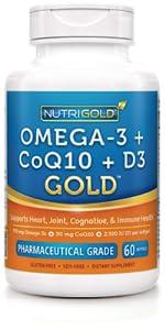 Omega 3 + CoQ10 + D3