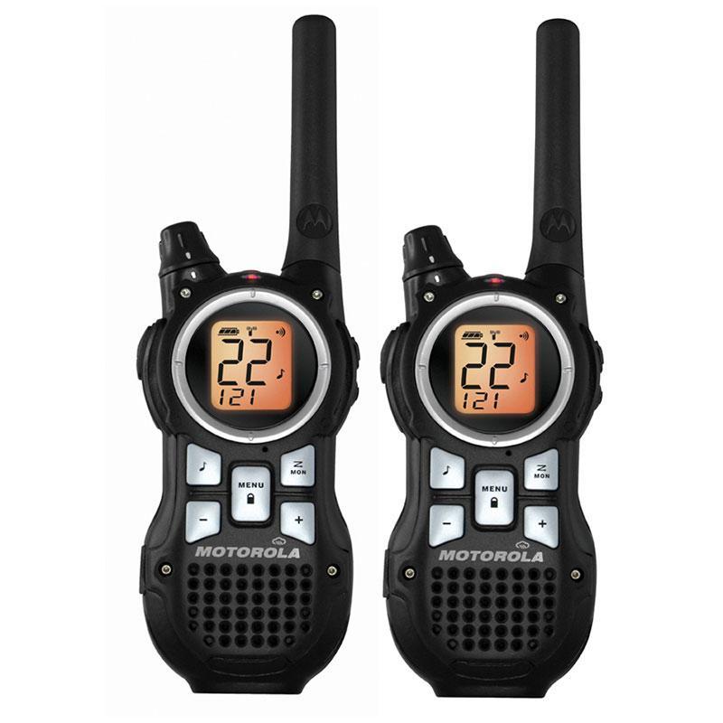 Motorola MR350R 35-Mile Range 22-Channel FRS/GMRS Two-Way Radio (Pair)