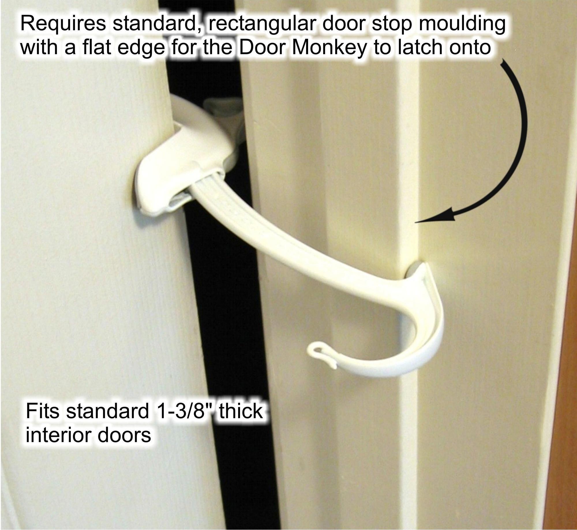 View larger  sc 1 st  Amazon.com & Amazon.com : Door Monkey Door Lock and Pinch Guard : Childrens ... pezcame.com