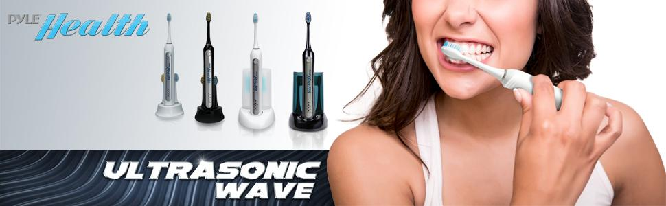 ultrasonic wave rechargeable electric toothbrush automatic charging bass dock
