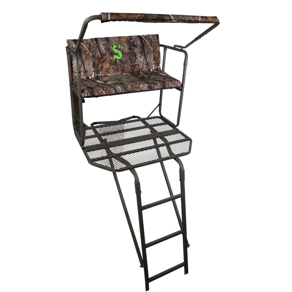 Amazon Com Summit Dual Pro Ladder Stand Hunting Tree