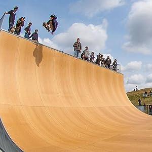 Epicurean Skate Ramp