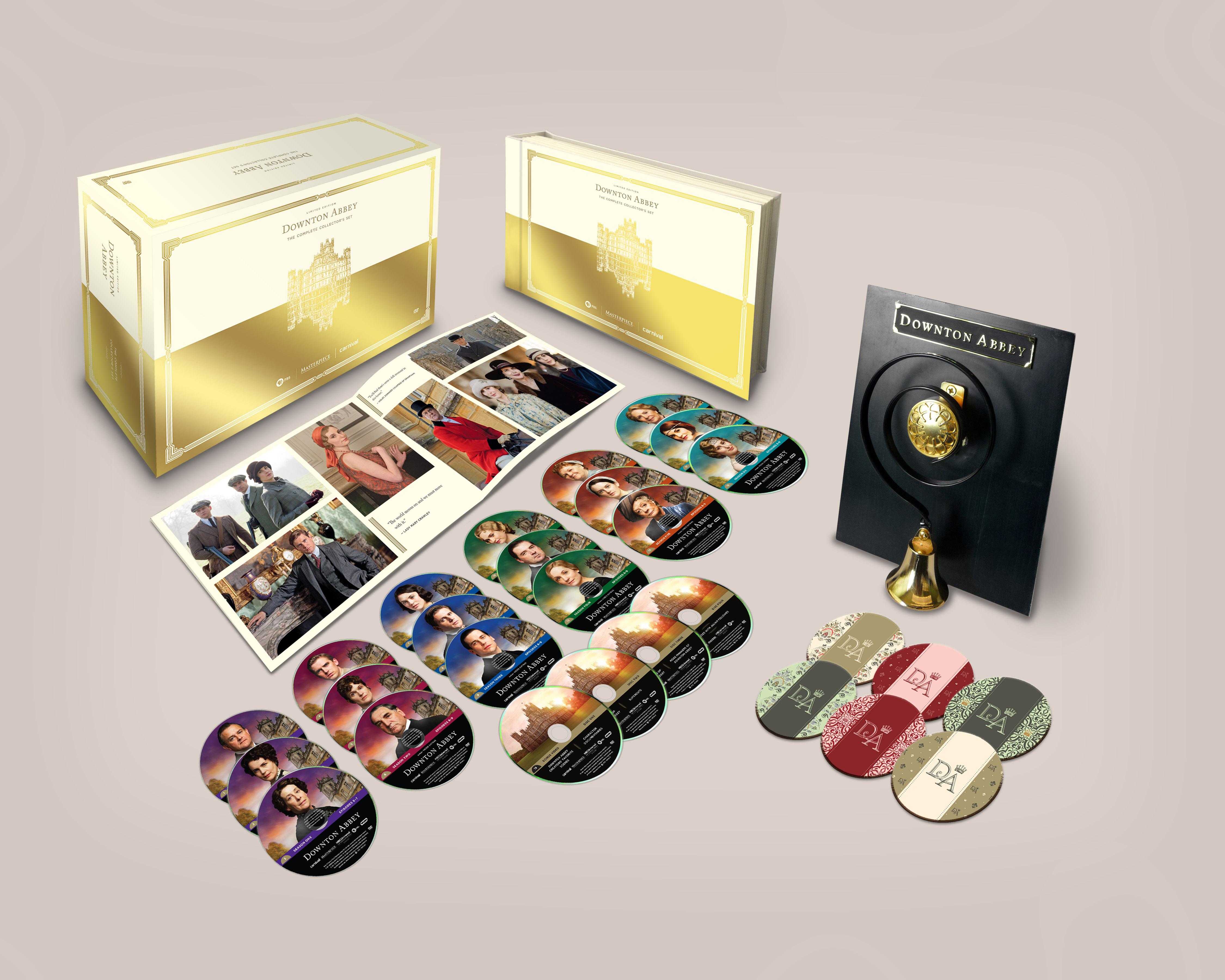 Amazon.com: Downton Abbey: Complete Limited Edition Collector's Set