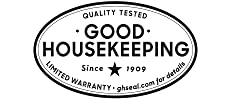 Good Housekeeping Seal of Approval. Limited Warranty. Risk Free. Refund